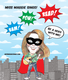 Bam! Pow! Read! Be A Hero With Me